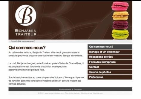 Benjamin Traiteur - de Weetrine